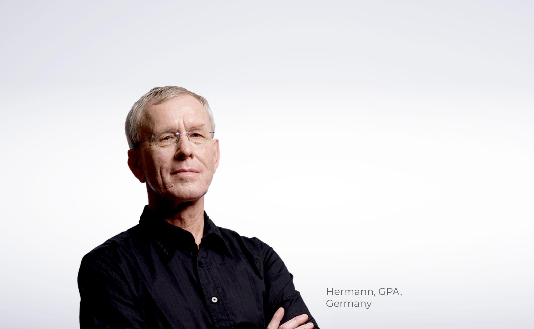 Hermann, GPA, Germany